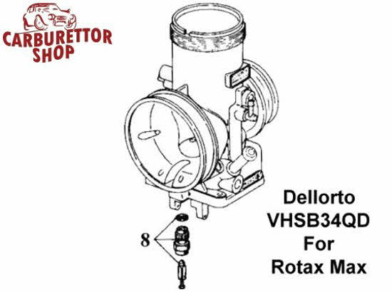 how to set float level on dhla dellorto