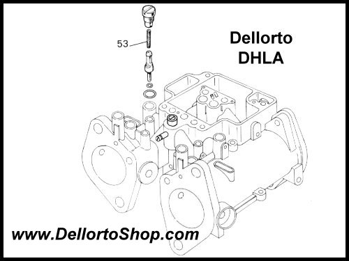 53 Pump Jet Filter For Dellorto Dhla Carburetors