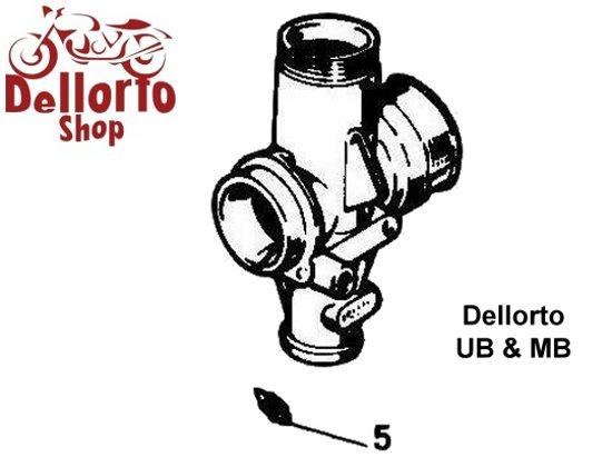 (2) E-type Needle for Dellorto UB and MB carburetors - 2343