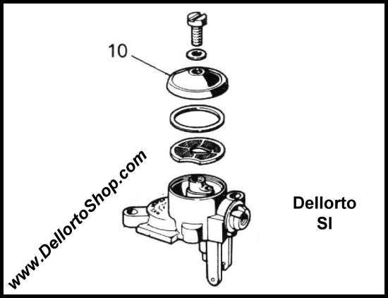 Dellorto Si Carburetor Parts