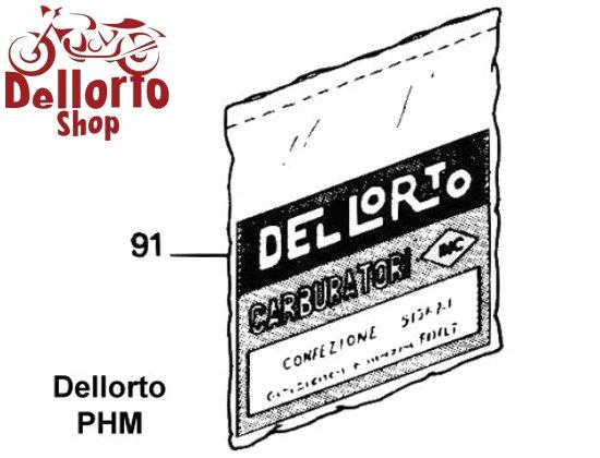91  service kit for dellorto phm b carburetors for bmw 90s