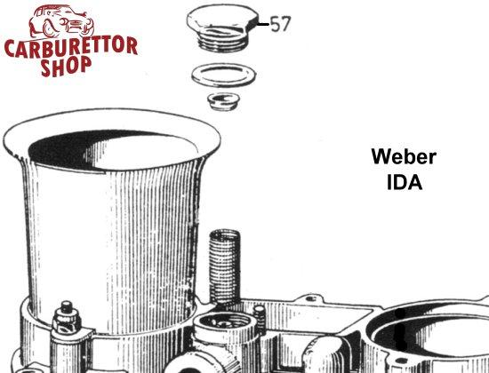 weber ida 2c carburetor parts