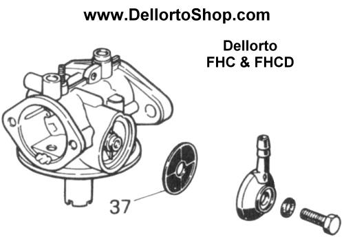 Dellorto Banjo Filters 6109