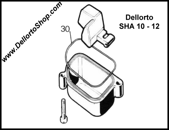 Dellorto Sha10 And Sha12 Carburetor Parts