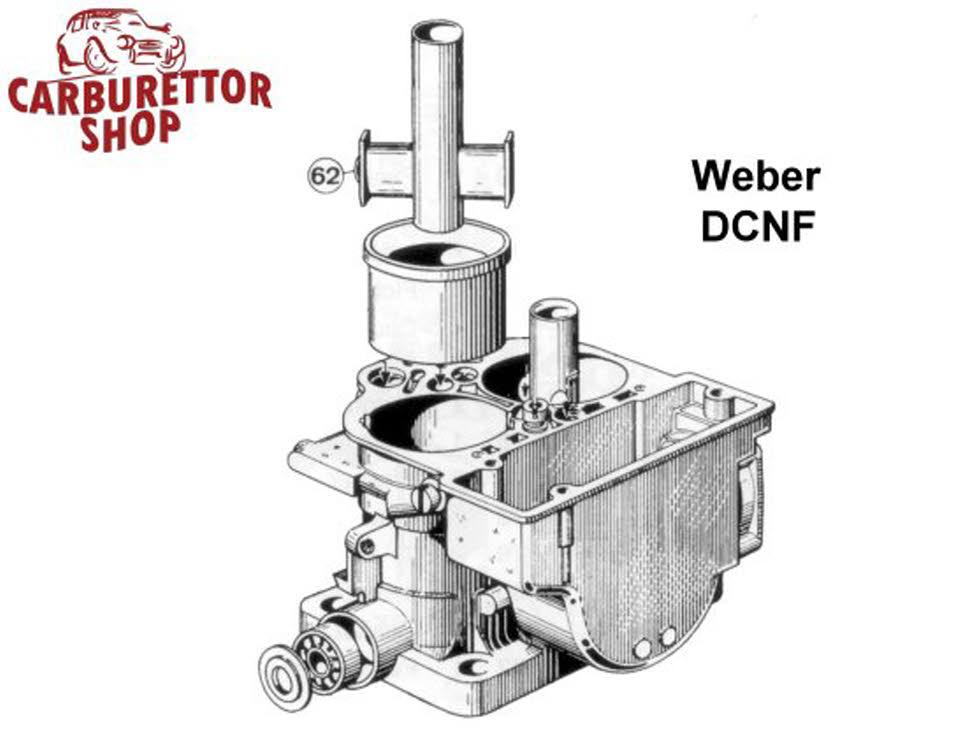 WEBER DCNF AUXILIARY VENTURI 4.5