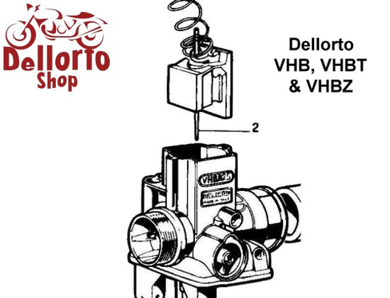 dellorto vhb vhbt and vhbz carburetor parts