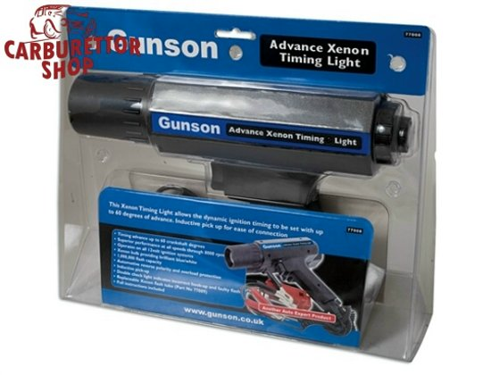 Gunson Timing Light With Advance Feature - 77008