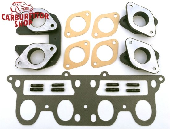 Complete Set of Carburetor Mounts for Alfa Romeo Nord Engines 105 115 and 116 series