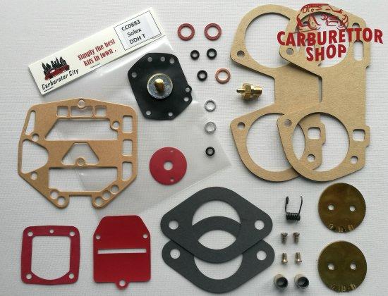 Service Kit for the Solex 40 DDHT carburetors for Volkwagen K70