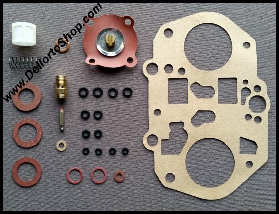 (99) Original Service Kit for 1 Dellorto DRLA 36 or 40 Carburetor