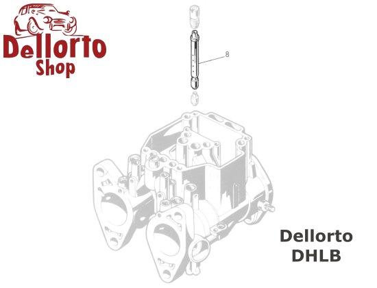 7484 Main Jet for Dellorto DHLB Carburetors
