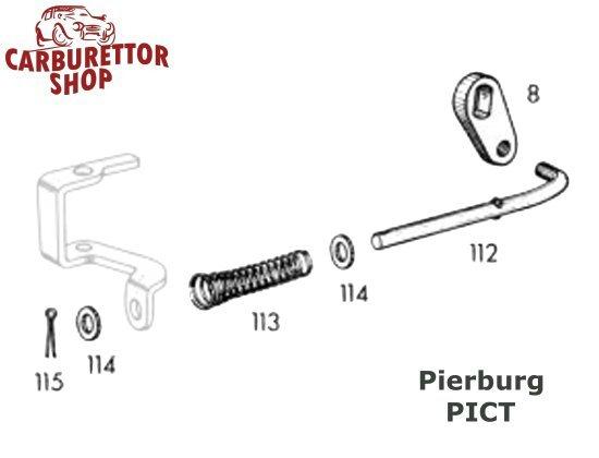 pierburg pict carburetor parts and service sets