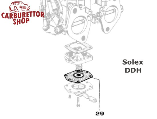 SOLEX 40 DDH CARBURETORS PUMP NON RETURN VALVE