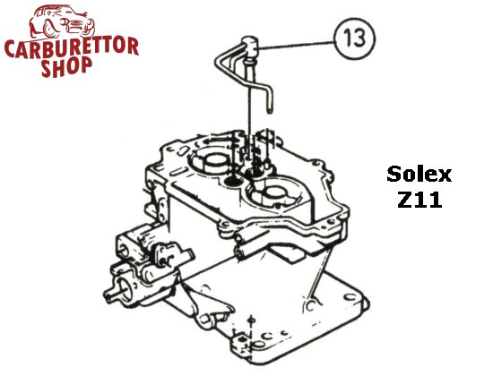 Solex Z11 Carburetor Parts And Service Kits
