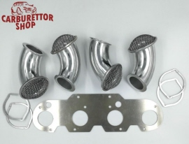 Set of 4 Curved Rampipes - Alfa Romeo GTA-Style