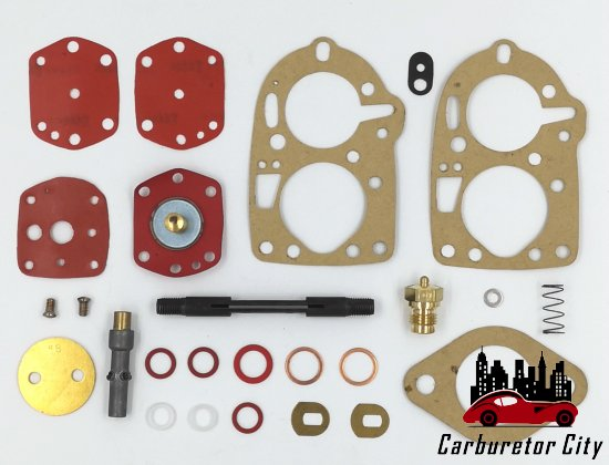 Elaborate Rebuild Kit for Solex 32 PBIC Carburetors - CCR9316