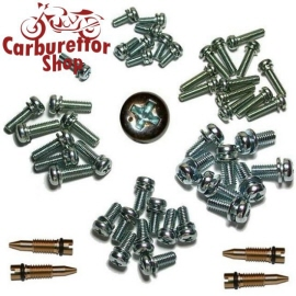 Screws Set for Keihin Carburetors on Honda CB750 KZ Boldor 1978 - 1979