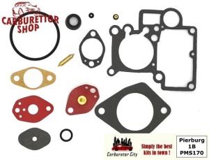 Service Kit for Pierburg 36 1B1 and 1B3 carburetors for Audi 80