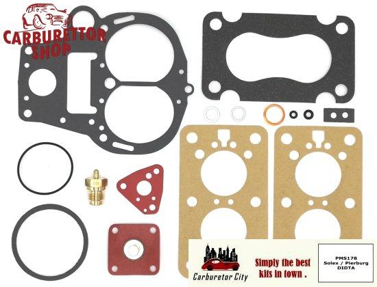 Service Kit for Solex Pierburg 32 DIDTA carburetors for Opel A Ascona 1600 S