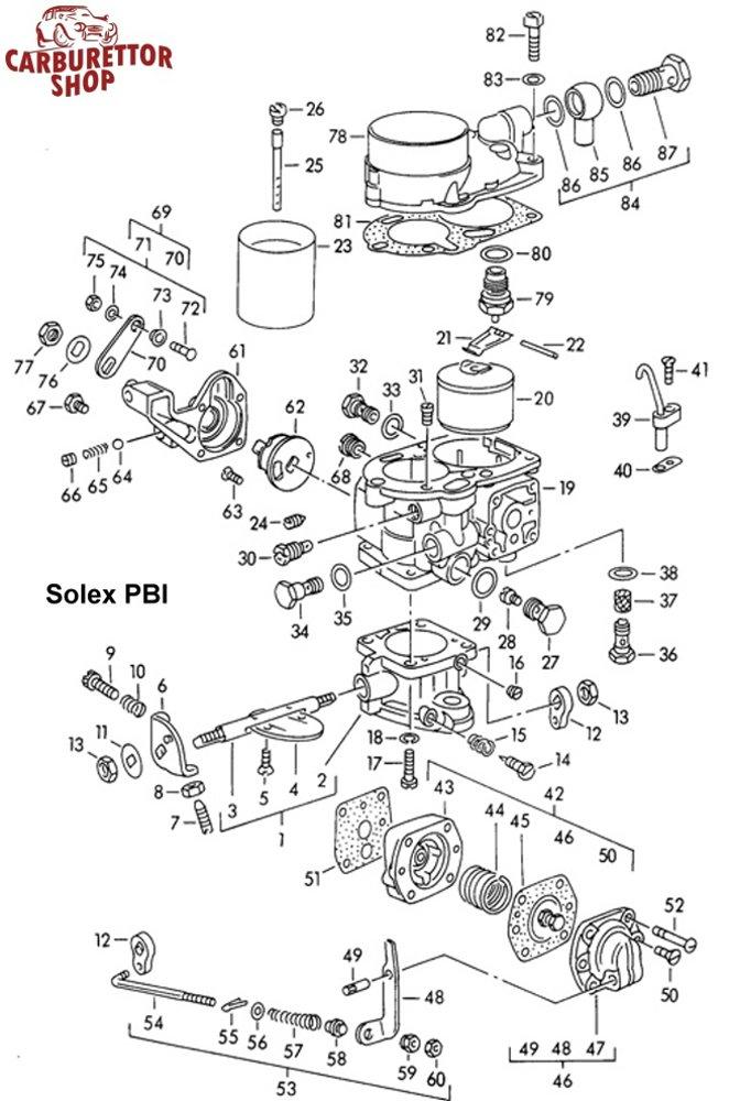 solex pbi carburetor parts rh ricambicarburatori com