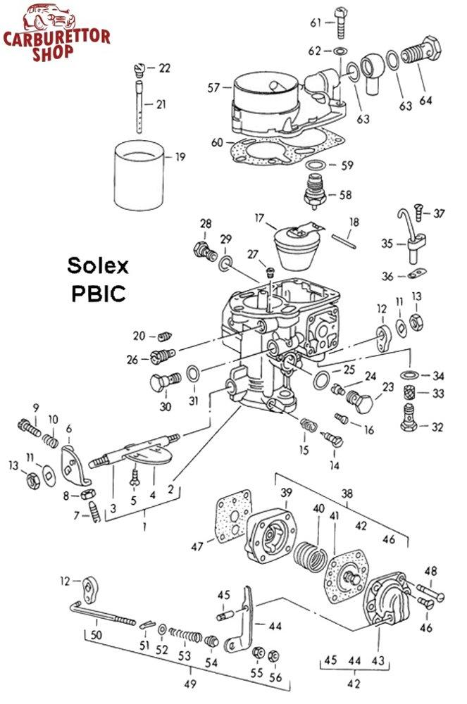 solex pbic carburetor parts rh ricambicarburatori com