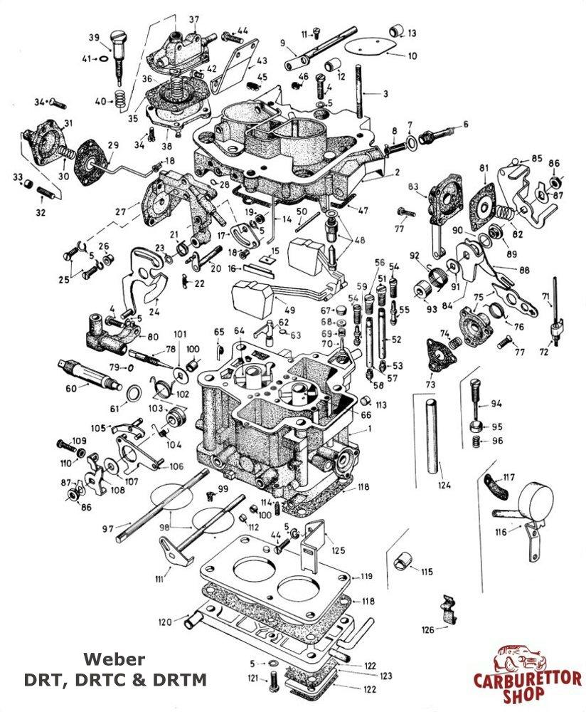weber drt drtc and drtm parts and service kits rh carburettorshop com