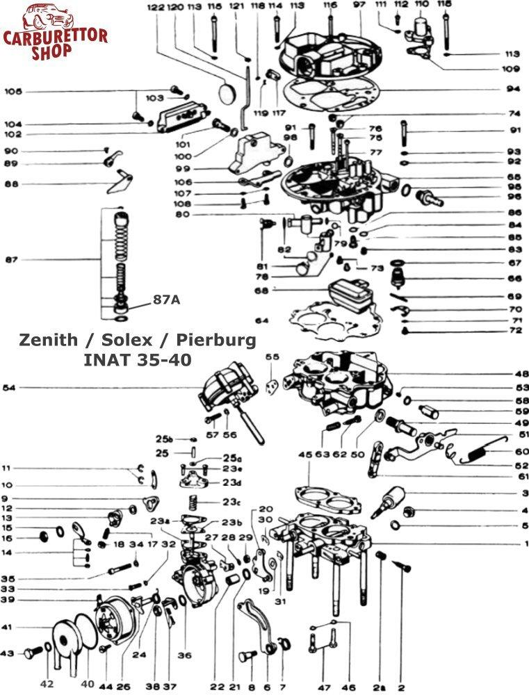 Zenith Carburetor Line Diagram